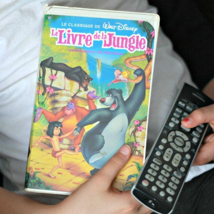 VHS Le Livre de la jungle Francais, Black Diamond VHS, Black Diamond livre de la jungle, Mowgli film, Film Disney francais, 90s enfant de la boutique PastelEtPixel sur Etsy