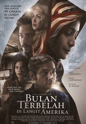 Bulan Terbelah di Langit Amerika glad that I had the chance to watch this movie on cinema with mom and sister