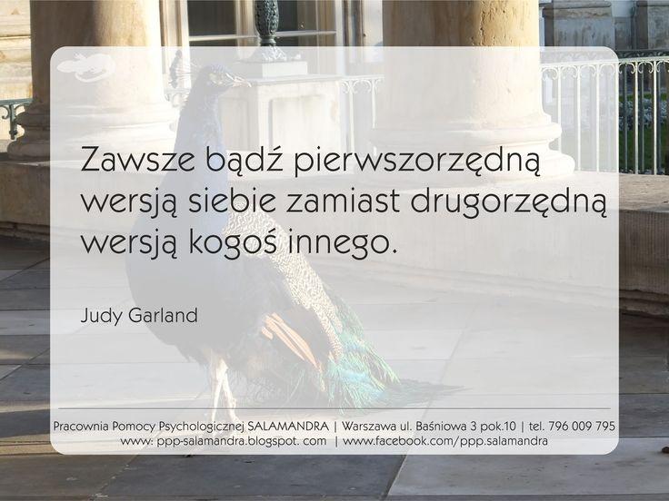Cytat z Judy Garland o byciu sobą