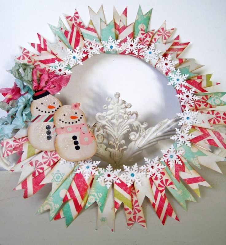 I can see doing this with any kind of scrap paper, for any season! LOVE!