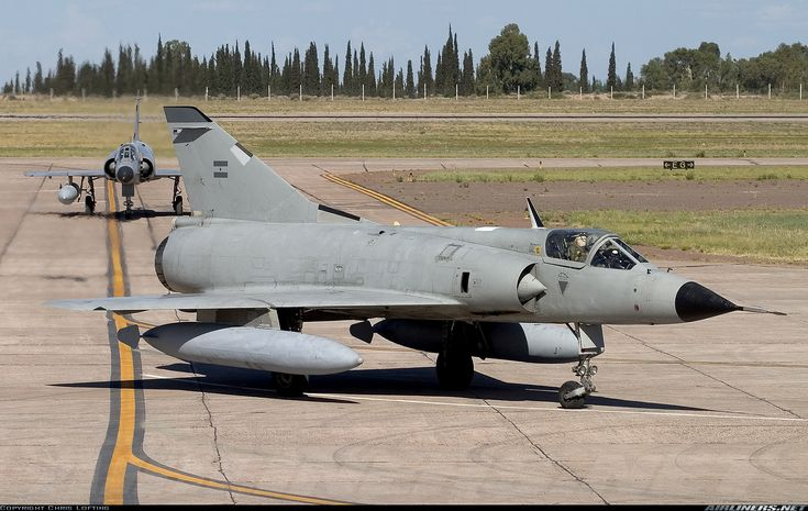 Fuerza Aérea Argentina Dassault Mirage III.