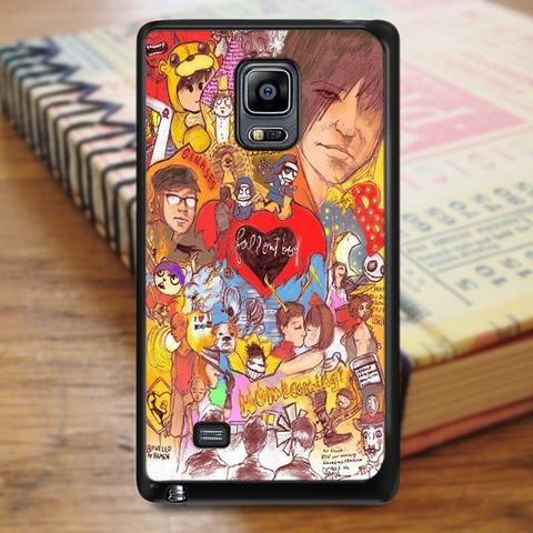 Fall Out Boy Art Samsung Galaxy Note 3 Case