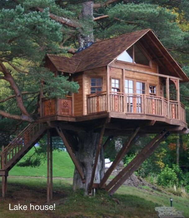 Cool Cozy Homes: Camping With Romance. Treehouse Cabin