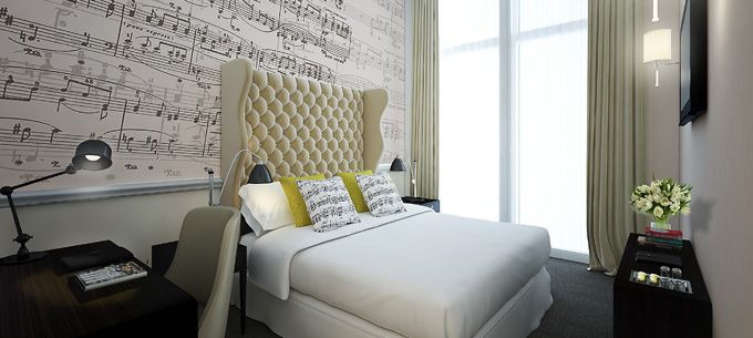 The Ampersand Boutique Hotel, London - Pitch-perfect interiors inspired by the sounds of music
