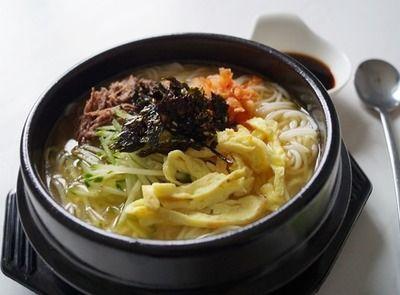 Кукси ( лапша с бульоном,мясом и овощами по-корейски) — Вкусный остров