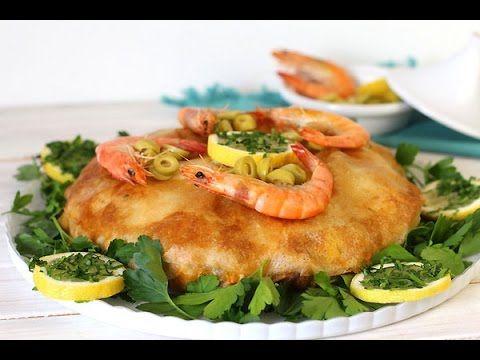 pastilla au poisson et aux fruits de mer - Blog cuisine marocaine / orientale Ma Fleur d'Oranger / Cuisine du monde