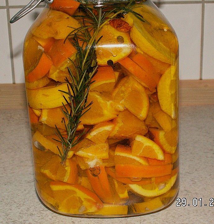 Pikant eingelegte Zitrusfrüchte (Rezept mit Bild)   Chefkoch.de