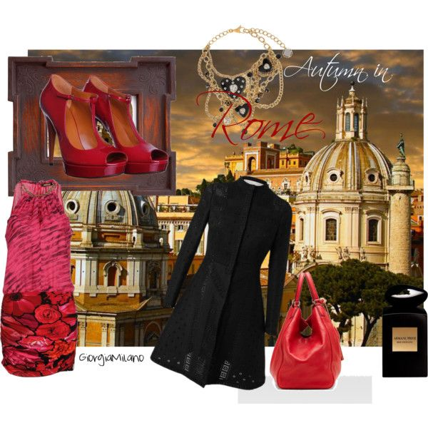 """""""Autumn in Rome"""" by furettina on Polyvore"""