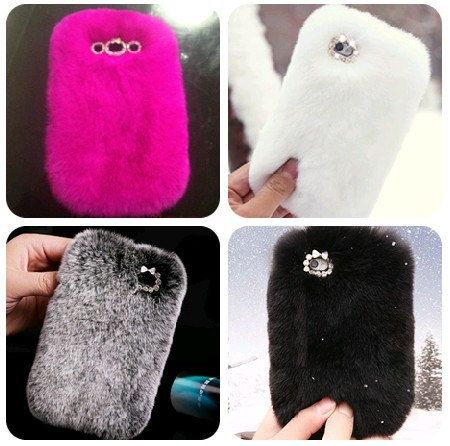 Iphone cases but they are pretty expensive they use the same fur as UGG. The cases are 300_400$
