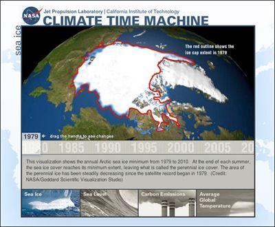 Una macchina del tempo del clima dalla Nasa