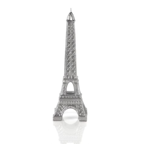 Eiffel Tower Candle - Silver from Z Gallerie