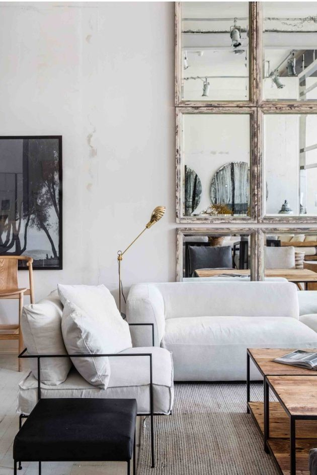 – A mixture of modern, bohemian and industrial style of the middle of the century. Home and …
