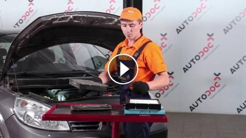 How to replace Cabin filter on RENAULT SCÉNIC 2 [TUTORIAL]: How to replace Cabin filter on RENAULT SCÉNIC 2 2003, 2004, 2005, 2006, 2007,…