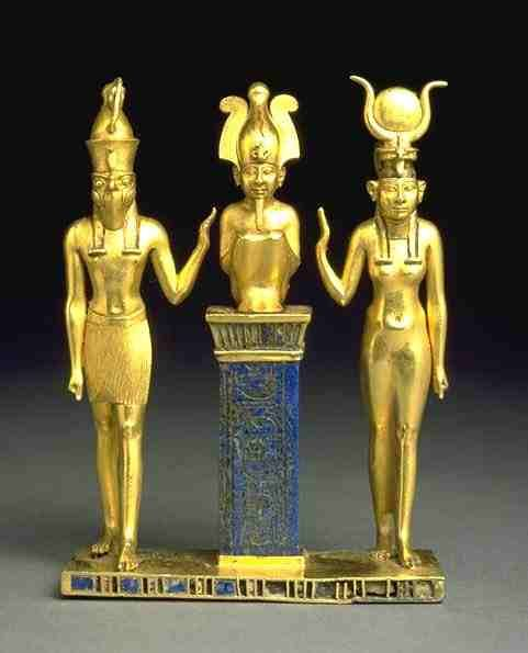 egyptian myth isis | Egyptian Mythology: Trinity of Isis, Osiris, Horus