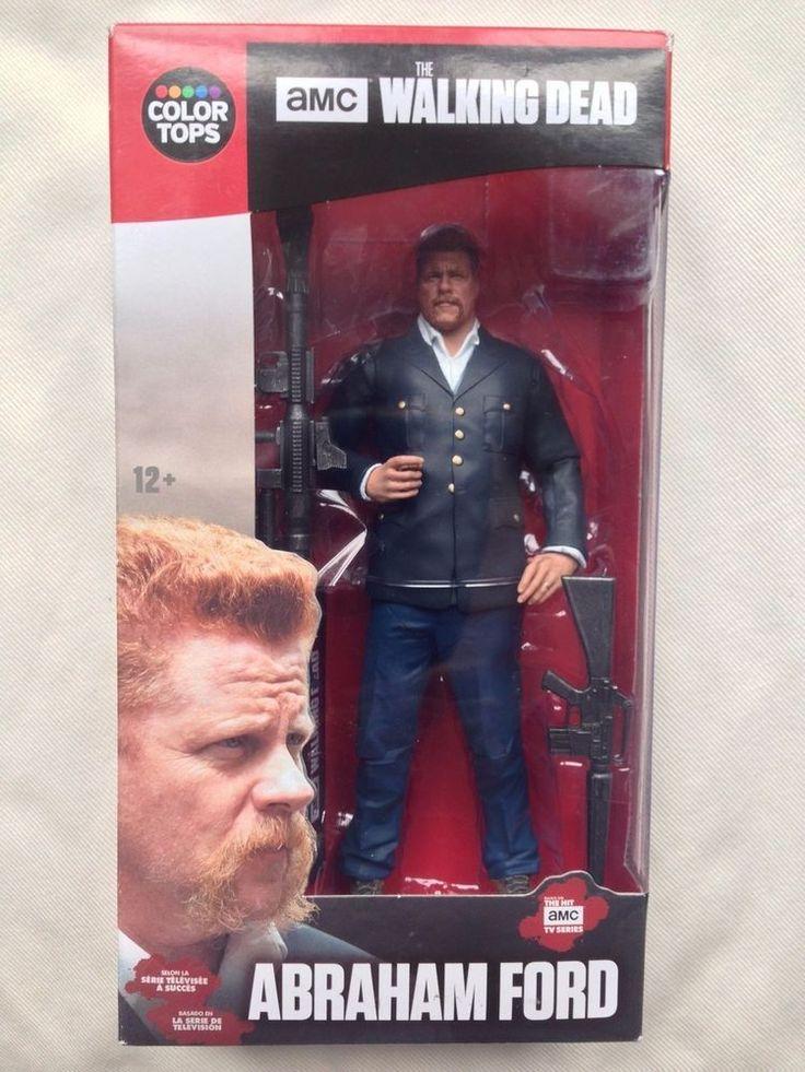 Walking Dead Action Figure Abraham Ford 7 inch McFarlane AMC TV ToyBrand New #McFarlaneToys