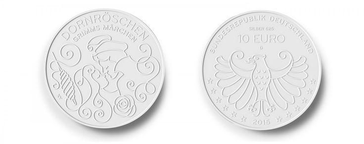 Bundesministerium für Finanzen Münze Regensburg Graphic Design Grimms Märchen