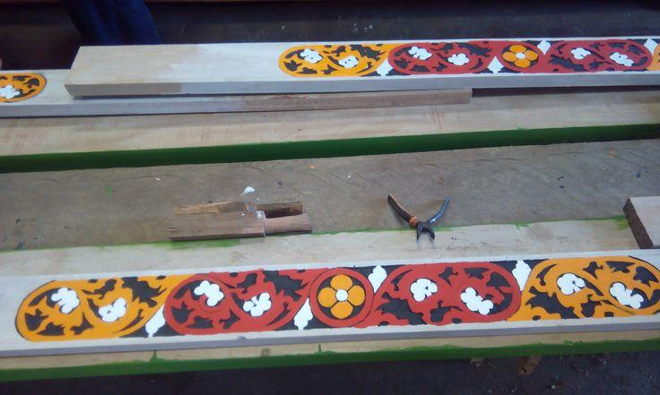 Karo ornamen, Ukir Kayu Suku Karo, Pelestarian Ornamen Khas Karo,  Karo Ornament