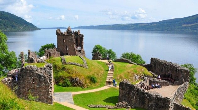 4 Kastil Unik di Skotlandia
