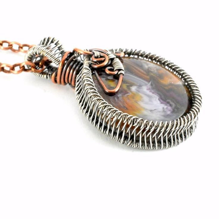 398 best Wire Weaving images on Pinterest | Wire, Wire crochet and ...