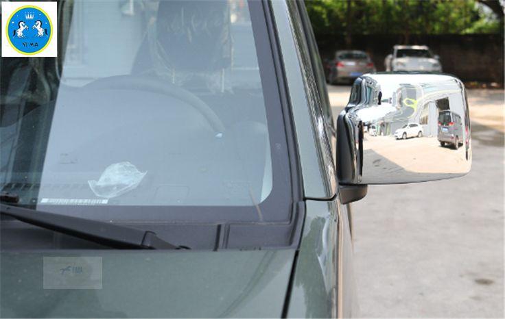 Accessories ! Exterior For Suzuki Jimny 2012 - 2015 ABS Rearview Mirror Cover Trim 2 Pcs / Set #Affiliate