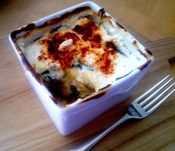 Recipe of the Week - Single Serve Lasagne Cooking this vegetarian take on the classic Lasange will only take fifteen minutes