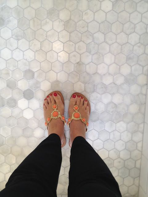 For Floor.  Like the size of these octagonal marble tiles