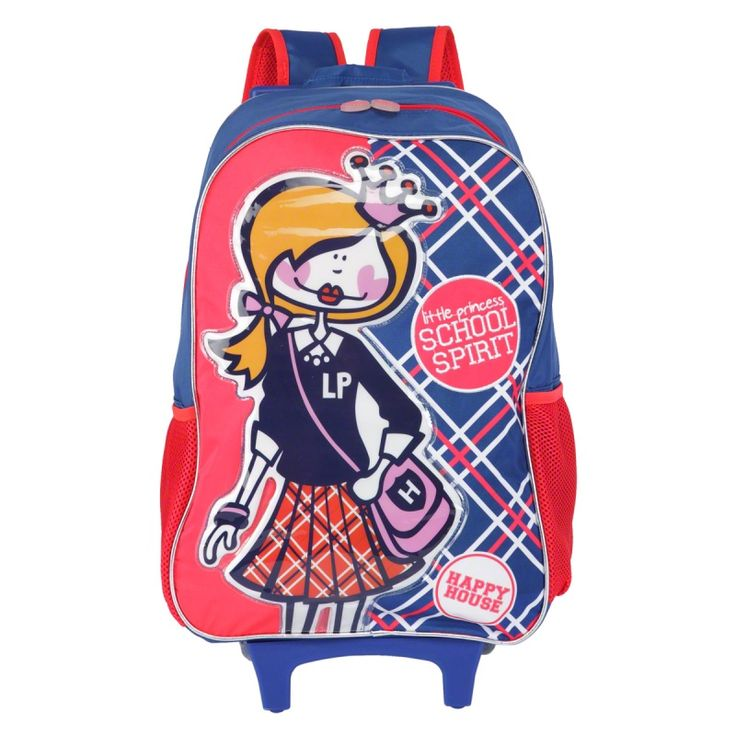 Buy Happy House Printed Trolley Backpack Bags Bags & Wallets- Beauty Makeup Products at LandmarkShops