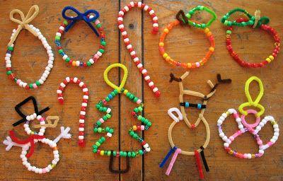 plumpudding: Beaded Christmas ornaments