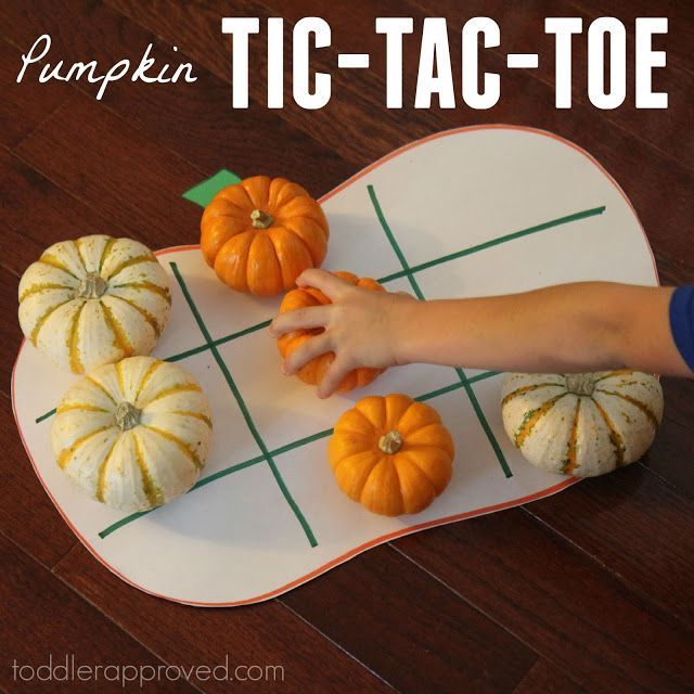 Pumpkins are so fun for kids to manipulate and play with... especially the small pumpkins that can fit in their hands easily! Yesterday we…
