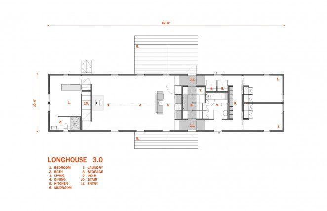 Modern Longhouse Plans