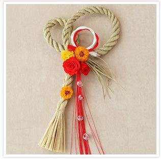 正月飾り しめ縄の作り方