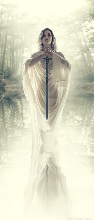 Vivian is one of the many names of the Lady of the Lake in the Arthurian legends. This mysterious female gave Arthur his sword, Excalibur. She stole Lancelot when he was a child and cured him when he went mad.