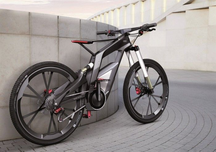 Audi's concept sport and trick electric bike