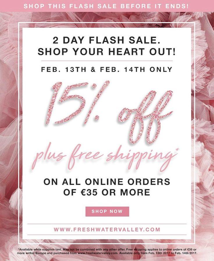 De Valentijn Flash Sale gaat nog even door! Nog tot Dinsdag middernacht: 15% korting op alle Luka Cosmetics producten. Shop via link in bio
