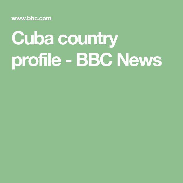 Cuba country profile - BBC News