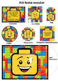 Resultado de imagem para festa lego personalizados