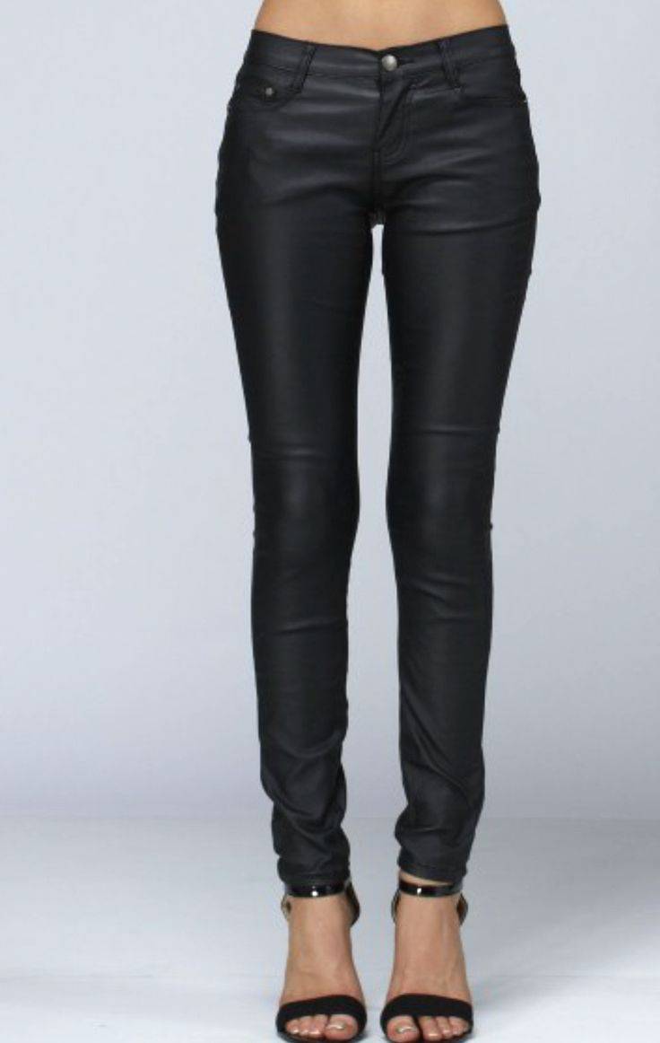 Jett Setter Faux Leather Pants - ShopLuckyDuck - 1