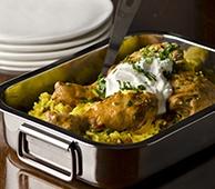 Ainsley Harriott's SOS Chicken Curry with FAGE Total Greek Yogurt