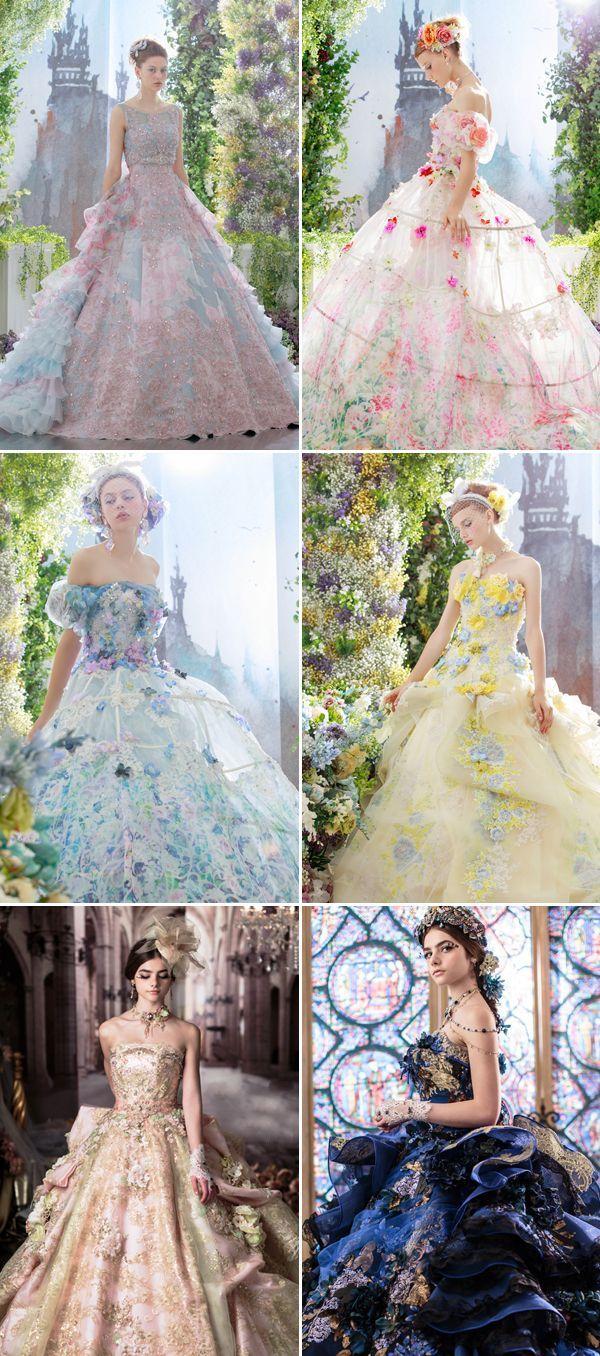 Prinzessin-würdige Träume! Top 10 japanische Hochzeitskleid-Marken, die wir li…