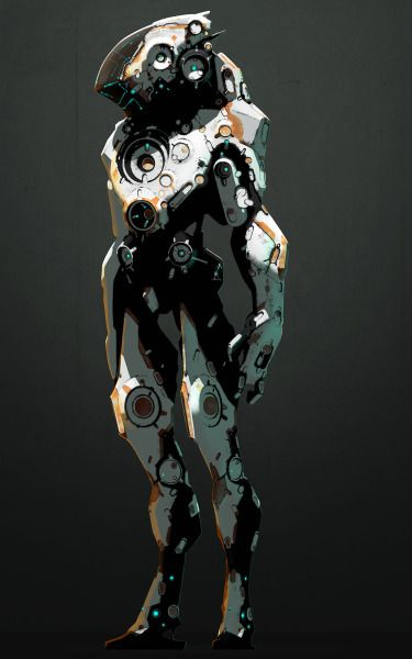 Character Design Job Openings : Best cyborg humanoid robot scifi soldier images on