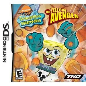 SpongeBob SquarePants Yellow Avenger - DS Game