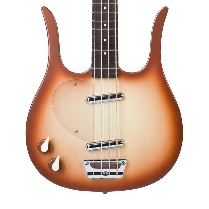 Danelectro Longhorn Bass Left Handed - Copperburst
