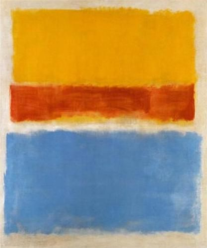 Mark Rothko | Untitled - Yellow, Red & Blue