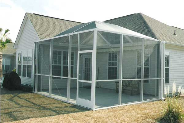 C Breeze Enterprises Leaders In Quality And Service Pertaining To  Screen Porch System  Screen Porch System