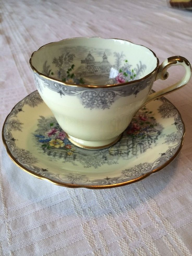 Aynsley Cup And Saucer • $24.99 - PicClick