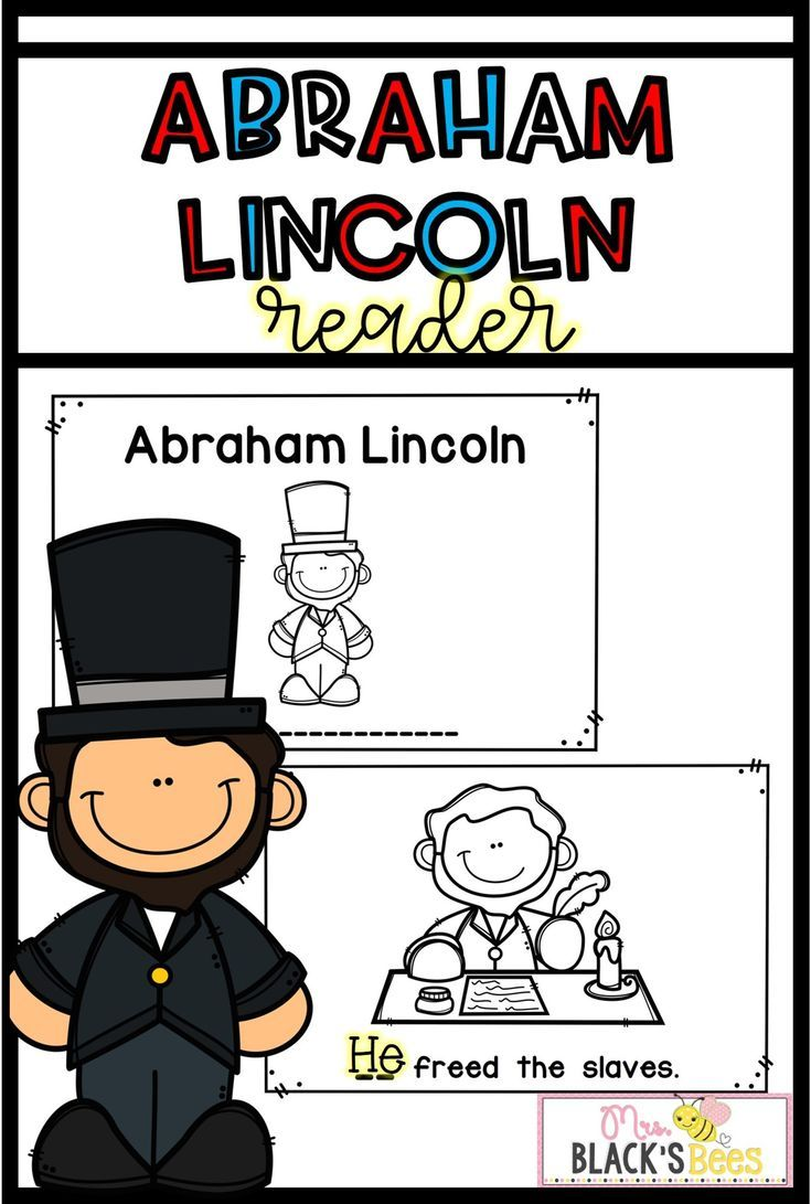 This Abraham Lincoln Emergent Reader Is The Perfect Addition To Your Kindergarten Or Emergent Readers Kindergarten Mini Readers Kindergarten Skills Activities [ 1091 x 735 Pixel ]