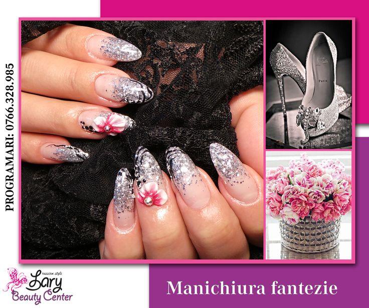 glitter nails http://www.larybeautycenter.ro/