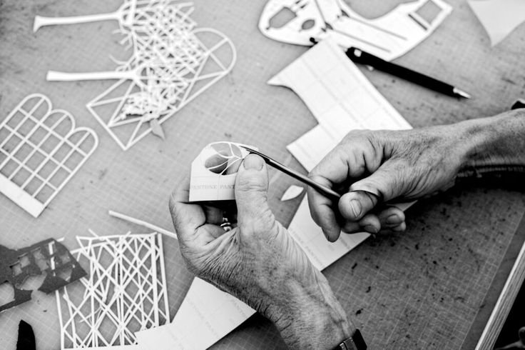 Every design starts with papercut - Jette Froelich Design