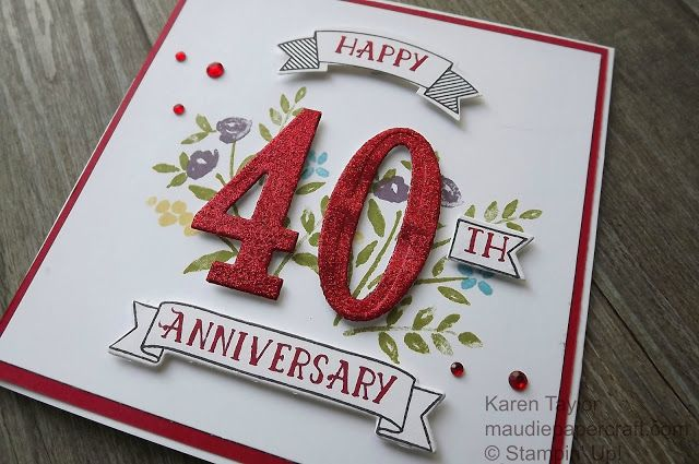Unique Ruby Wedding Anniversary Gifts: 25+ Best Ideas About 40th Anniversary Gifts On Pinterest