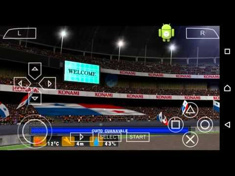 PES 2015 para Android excelente. - YouTube